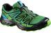 Salomon Wings Flyte 2 Trailrunning Shoes Men athletic green x/black/scuba blue